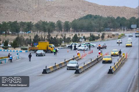ممنوعیت تردد در روزهای ۱۲ و ۱۳ فروردین در شهرهای نارنجی و قرمز/ ۴۰ راننده جریمه شدند