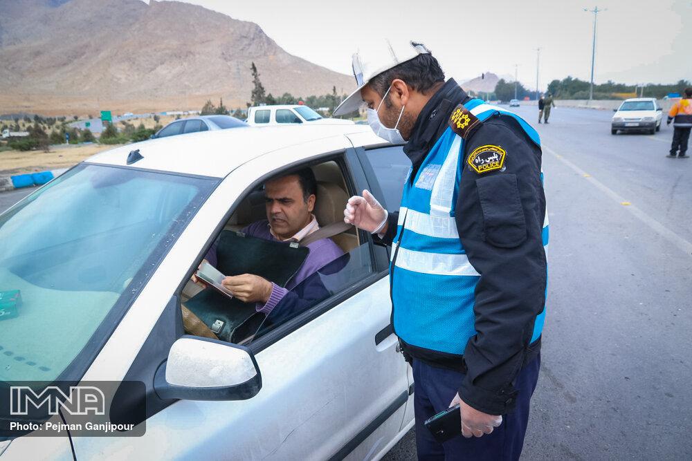 اعمال قانون پلاکهای غیر بومی در صورت عدم ترک اصفهان/فوت عابر پیاده در محور دامنه به تیران