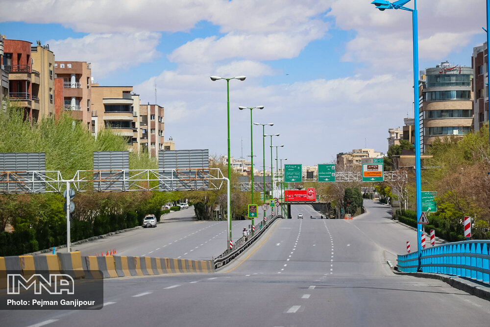 منع تردد در اصفهان