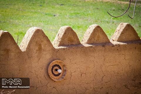 کارگاه سبدبافی در روستای ویست