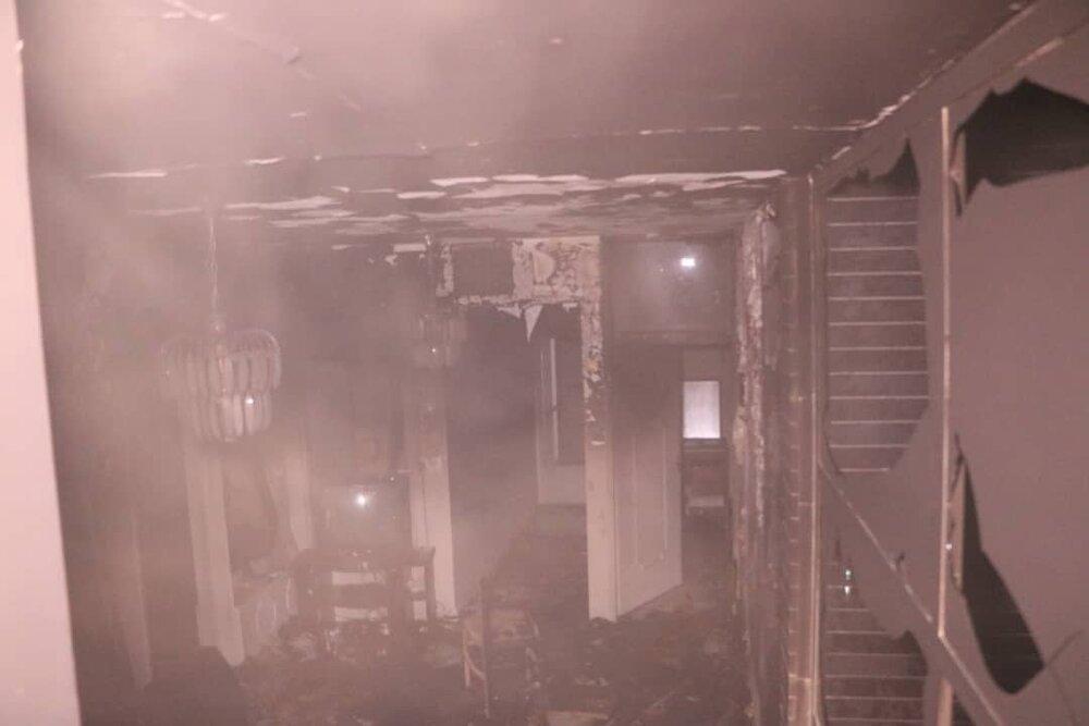 انفجار یک واحد مسکونی در حسن آباد کرج