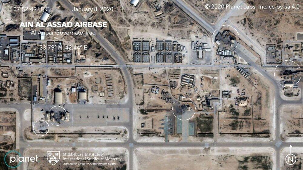 شنیده شدن صدای انفجار در پایگاه هوایی عین الأسد عراق