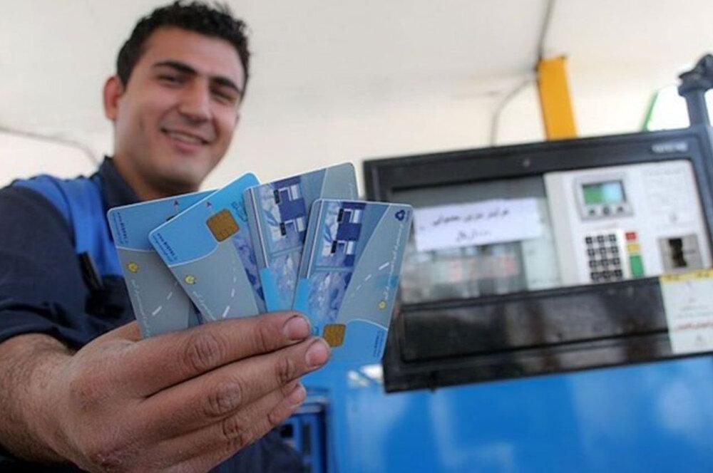 افزایش سقف ذخیره سهمیه بنزین در کارت سوخت خودروهای شخصی