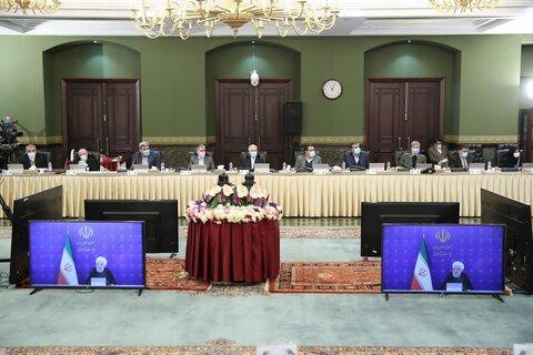 تاکید روحانی بر حق انتخاب مردم از نحوه مدیریت سهام عدالت