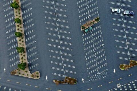 Deserted Public Spaces Around the World