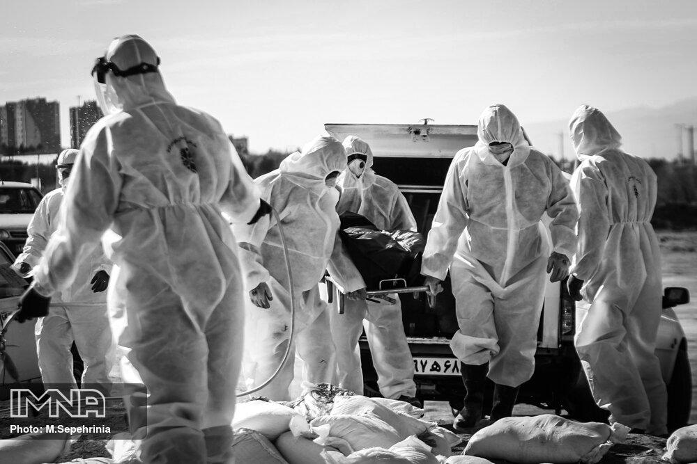 فوتیهای مشکوک به کرونا در سنندج بیش از آمار رسمی است