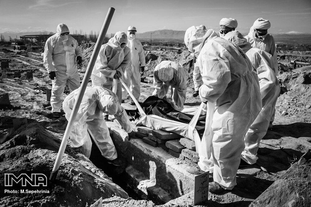 فوتیهای ناشی از کرونای تهران از ۱۹ به ۷۰ نفر رسید