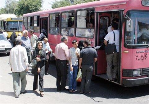 نرخ کرایه اتوبوسهای قزوین افزایش یافت