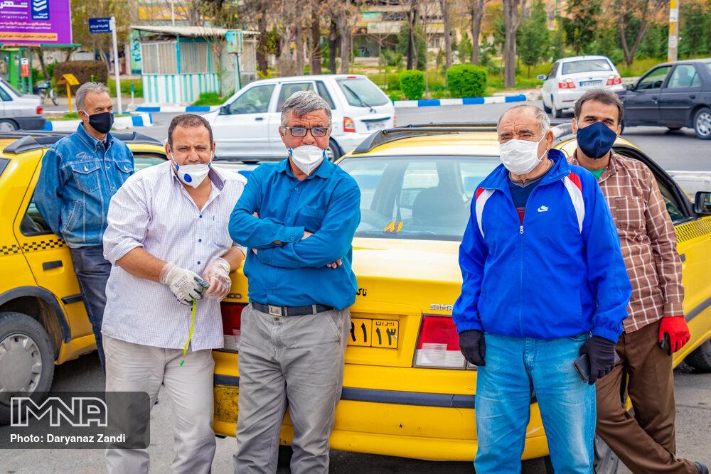 رانندگان تاکسی در انتظار پرداخت وام شش میلیونی