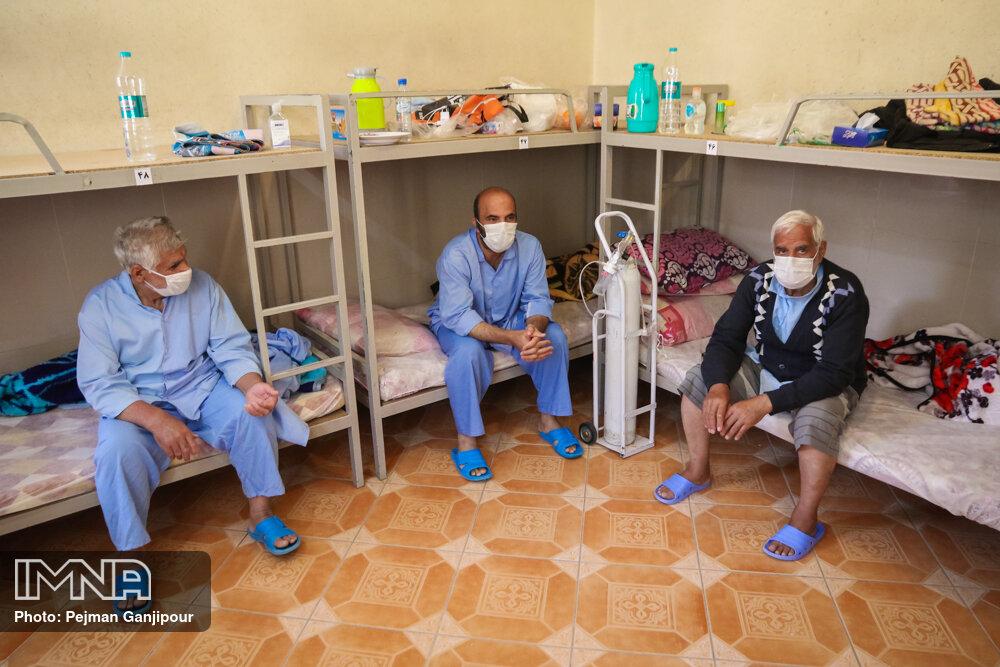 واکسیناسیون سالمندان و جانبازان در آسایشگاه کهریزک آغاز شد