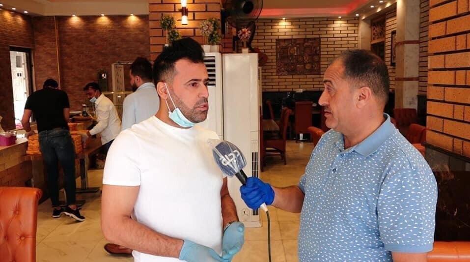ستاره سابق سپاهان به کادر پزشکی عراق سرویس می دهد