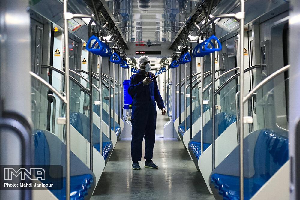 طراحی دستگاه ضدعفونی واگنهای مترو توسط محققان اصفهانی