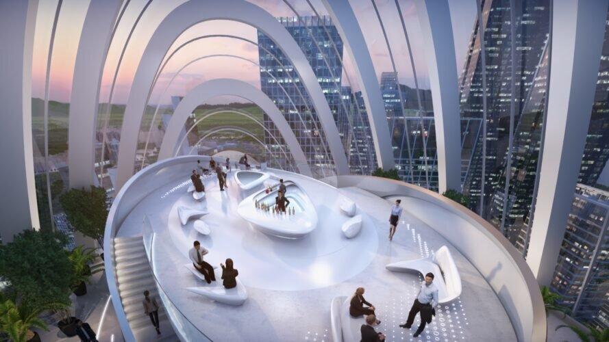 معماری بینظیر مرکز تکنولوژی شنژن