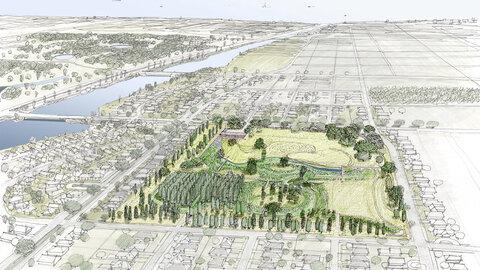 تالاب شهری؛ راهکار آمریکا برای مقابله با سیل