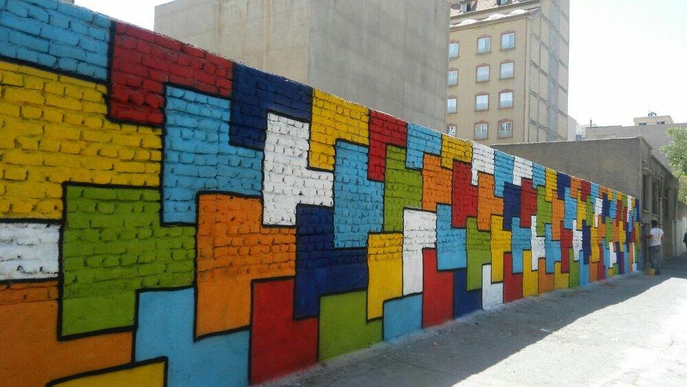 زیباسازی دیوارهای زابل/ساخت و ساز در بافت فرسوده سمنان