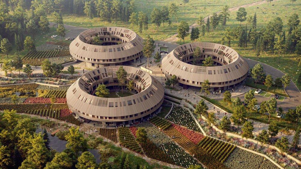 پایداری شهرها در گرو ساختمانهای مدور