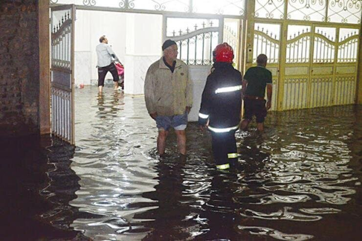 ۹۱ عملیات امدادی در بارندگی روز گذشته