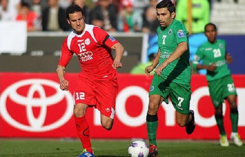 تحقیر نماینده عربستان در آزادی / پرسپولیس ۶ - ۱ الشباب لیگ قهرمانان آسیا ۲۰۱۲ + فیلم بازی