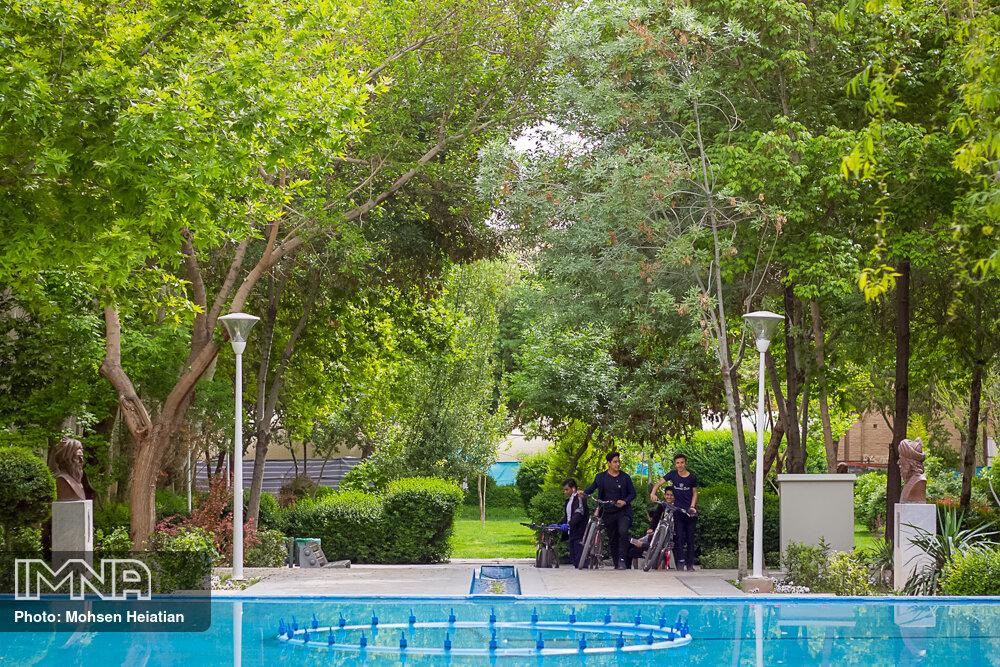 تاثیر دورههای آموزشی در حفظ فضای سبز شهر اصفهان