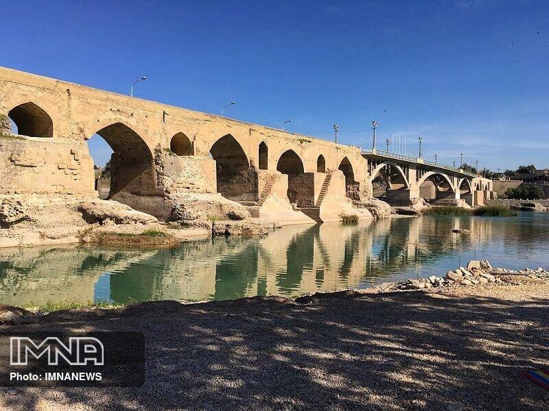 مرمت پل باستانی دزفول