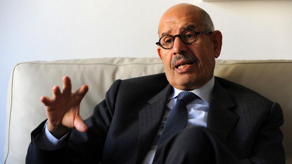 البرادعی: بزرگان و دانشمندان کجا هستند تا از حکم جنگ در ماه رمضان بگویند؟!