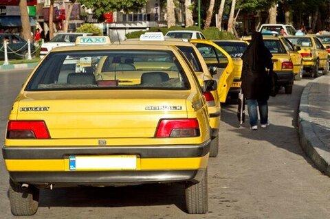 جریمه کرونایی برای تاکسیهای متخلف مهاباد