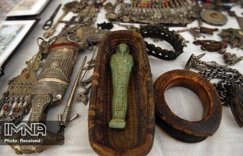 انتقال ۲۸ اثر باستانی به ایران