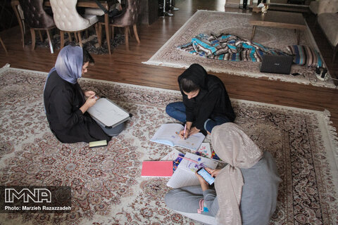 Iranian students embracing distance learning during outbreak