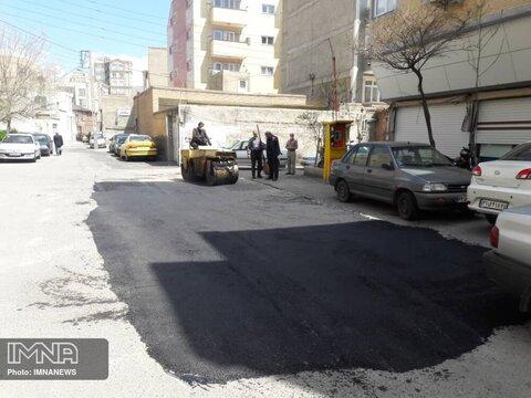 اجرای بیش از ۹۰ درصد قراردادهای ابلاغی آسفالت در اصفهان