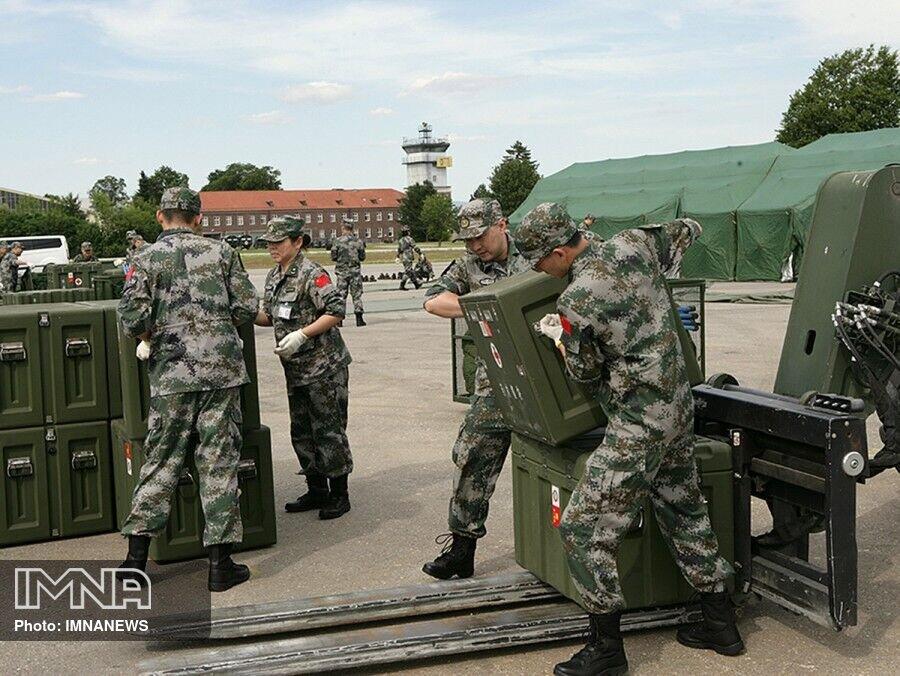 ارسال کمکهای ضد کرونایی ارتش چین به دیگر کشورها