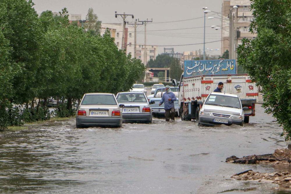 تامین اعتبار ۲۵ میلیارد تومانی طرح دفع آبهای سطحی اهواز