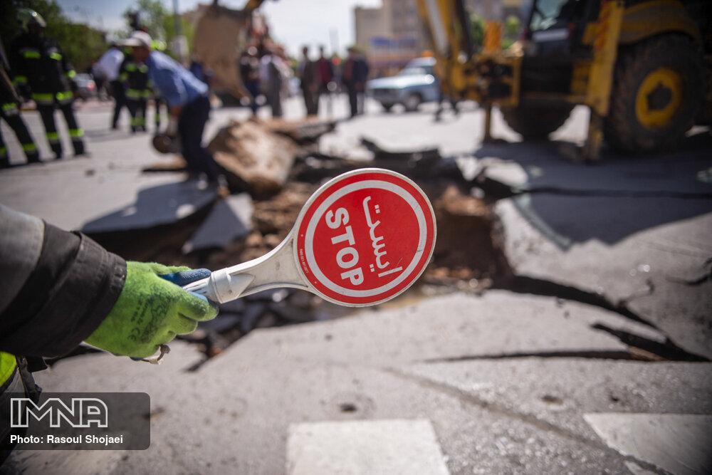 توجه به وضعیت فرونشست زمین در برنامه اصفهان ۱۴۰۵