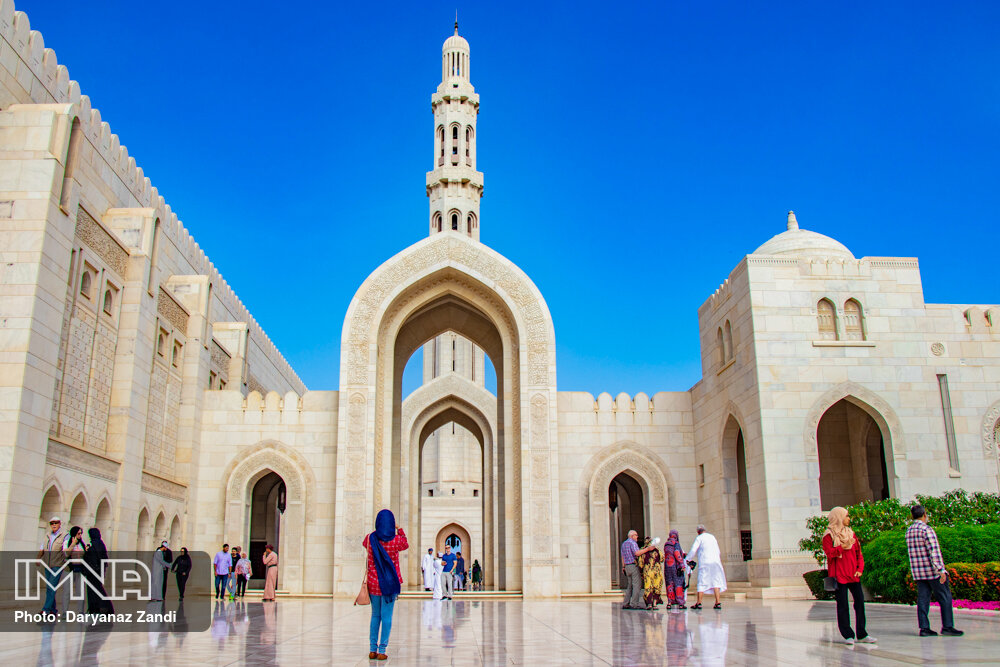 مسجد سلطان قابوس در عمان