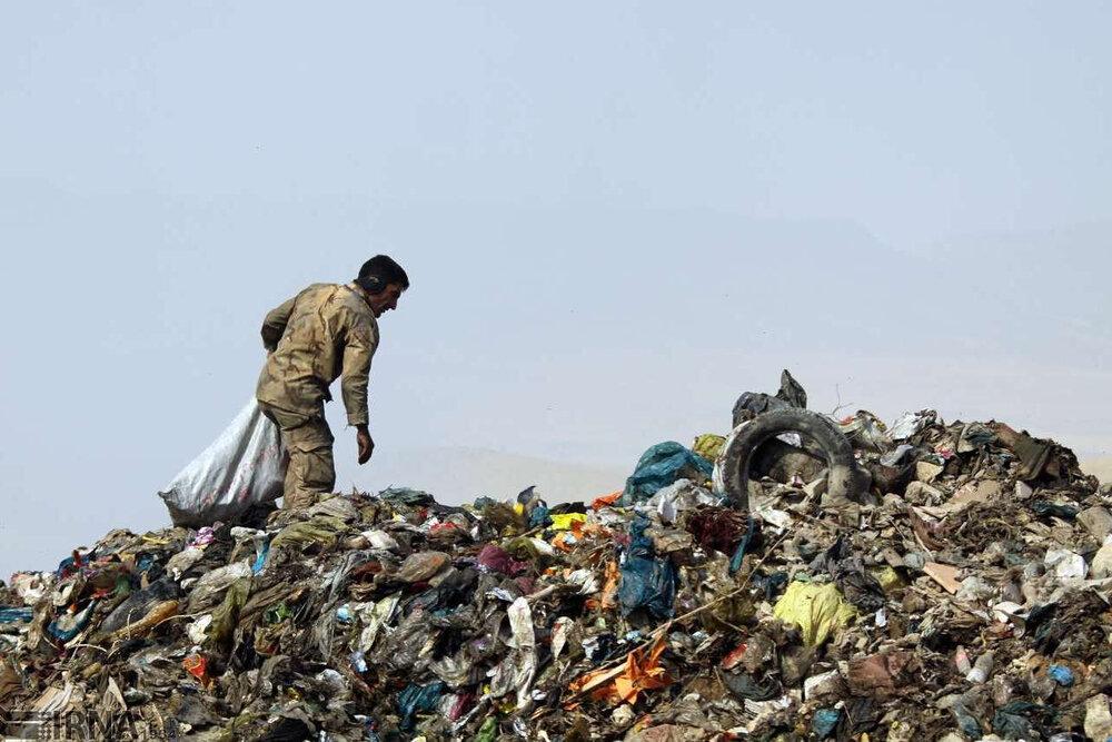 کاهش تولید زباله در تهران