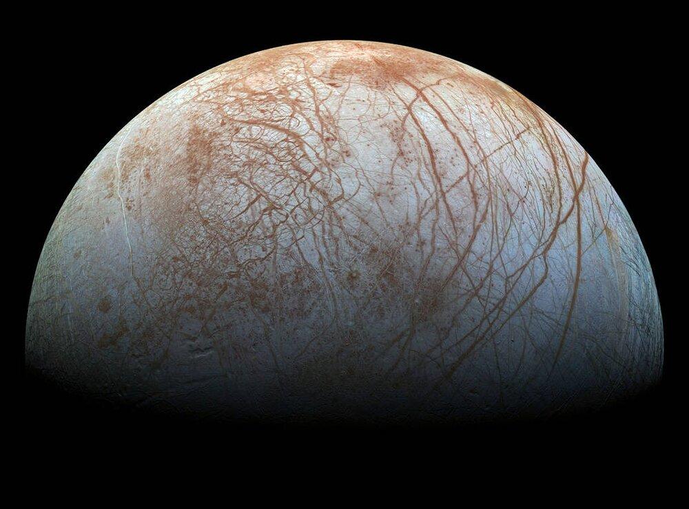 """""""اروپا""""؛ قمری با احتمال حیات فرازمینی"""