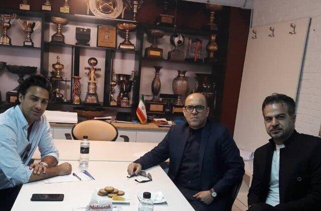 دیدار مجیدی با مدیرعامل باشگاه استقلال