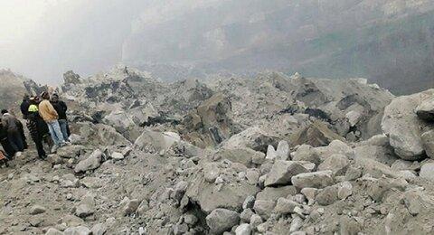 دو کشته بر اثر ریزش سنگ در یکی از تونلهای آزادراه تهران-شمال