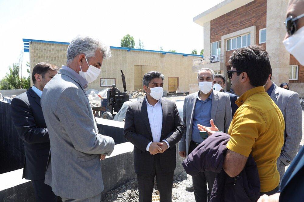 پیشرفت ۶۷ درصدی پروژه احداث تصفیه خانه چهل بازه مشهد
