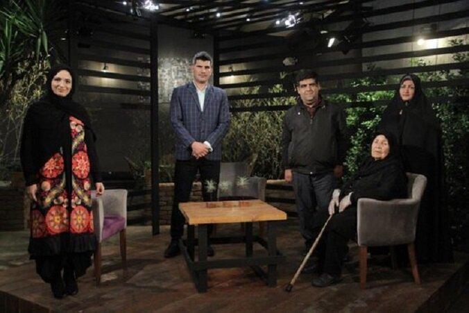 گلاره عباسی میزبان پرستار فداکار و مادر آلزایمری