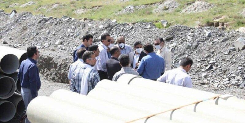 پیشرفت ۵۵ درصدی پروژه جداسازی آب شرب از آب خام در مشهد