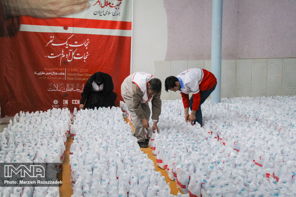 توزیع ۱۰ هزار بسته بهداشتی جهت کمک به بیماران خاص
