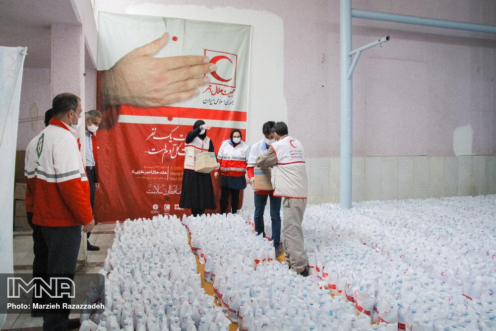 توزیع حدود ۳۶ هزار سبد غذایی بین نیازمندان ۲۴ استان