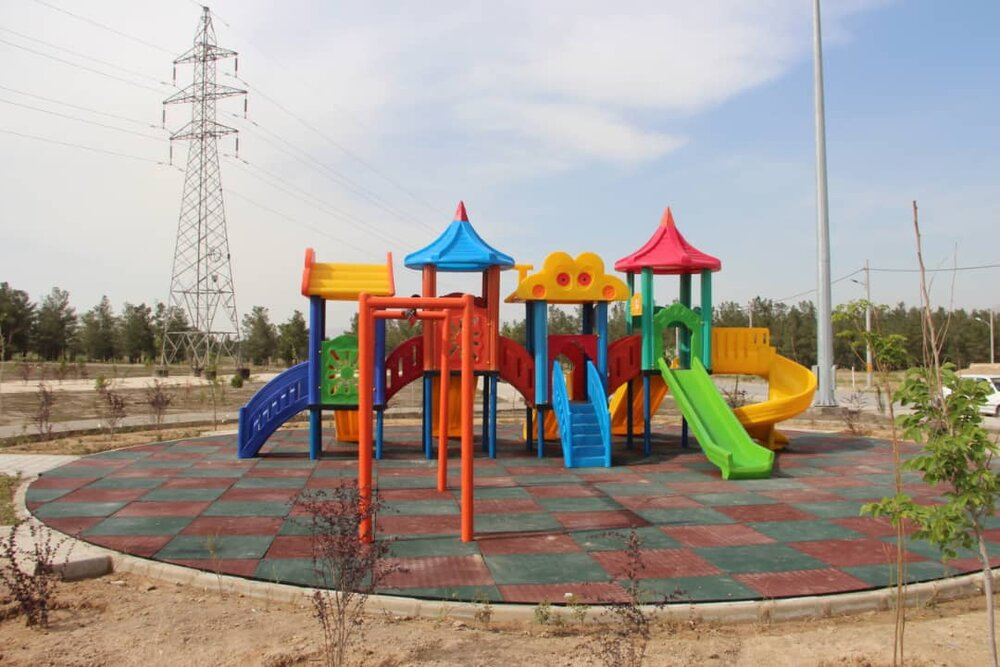 پارک الهیه در منطقه ۱۵ آماده بهرهبرداری است
