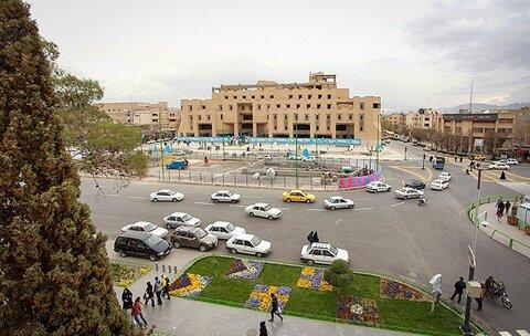امشب دیوار پازلی میدان امام حسین(ع) تغییر میکند