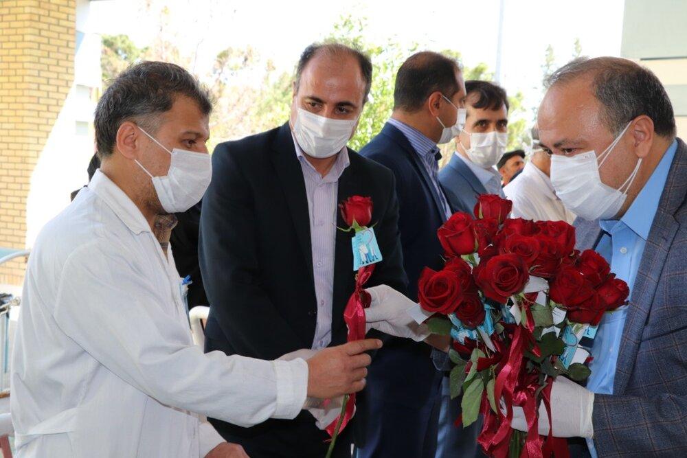 تقدیر شهرداری اصفهان از کادر درمانی بیمارستان غرضی