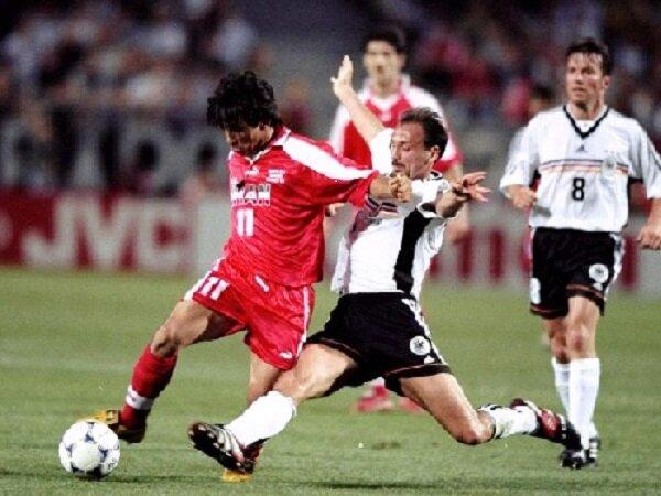پایان رویای صعود به دست ژرمن های پیر/ ایران ۰-۲ آلمان جام جهانی ۱۹۹۸ + فیلم بازی