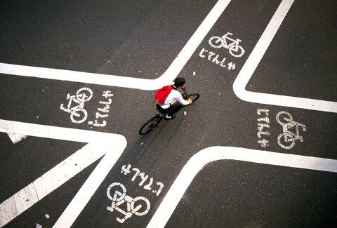 طراحی متفاوت مسیرهای دوچرخه