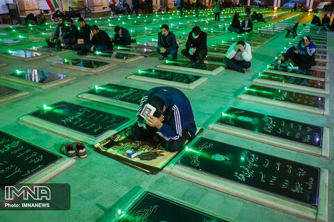 مراسم احیای شب نوزدهم ماه رمضان در تبریز
