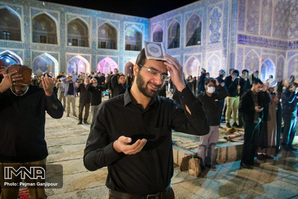 شب قدر در مسجد امام (ره)