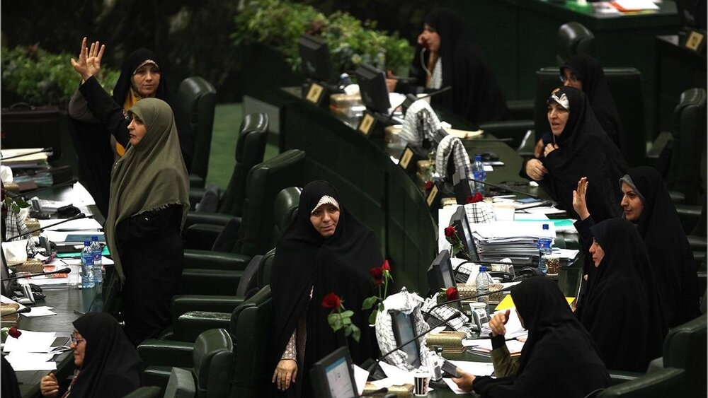 همه زنان ادوار مجلس در یک نگاه